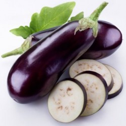 Organic - Aubergine Black Beauty 50 seeds
