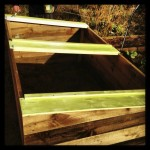 Painting the cold frame.