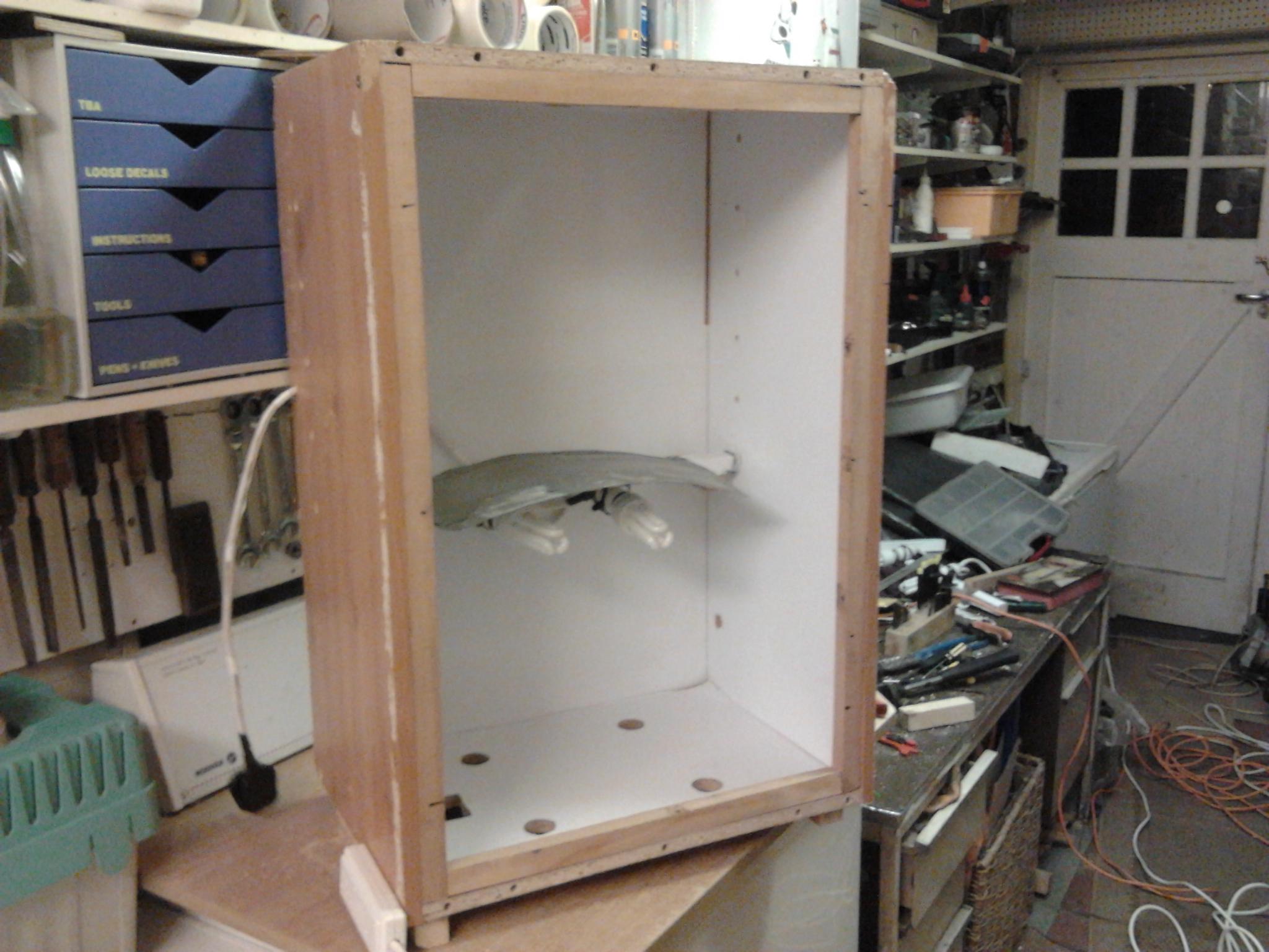 Mmmm new Project DIY Light Grow Box