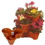 Containers in your garden plot