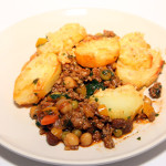 Morroccan spiced (cottage) pie