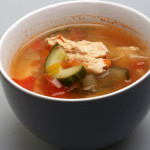 Tomato and cucumber soup