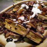 Lebanese style aubergines