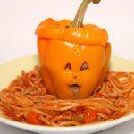 """For Halloween: pepper """"pumpkins"""""""