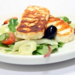 Grilled Halloumi and Fennel salad