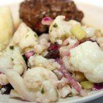 Cauliflower salad.